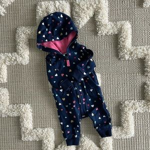 Carter's Heart One Piece Fall Outfit